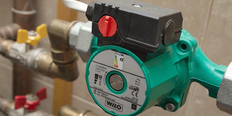 Как установить насос для парового отопления?