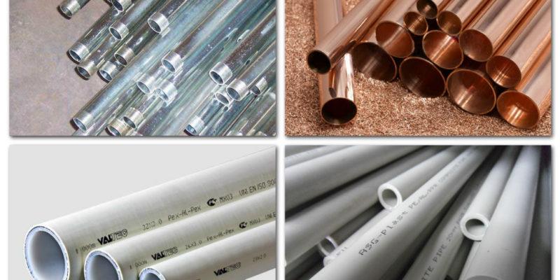 Какие бывают трубы для парового отопления?