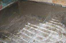 Какой бетон подходит для тёплого водяного пола?