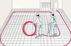 Каков расход трубы на тёплый пол на м2?